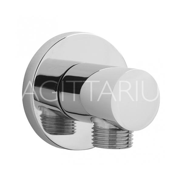 Sagittarius Deluxe Wall Shower Outlet - Chrome
