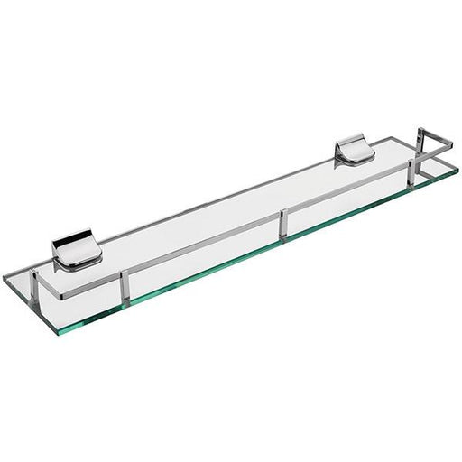 Sagittarius Madison Glass Shelf - Chrome