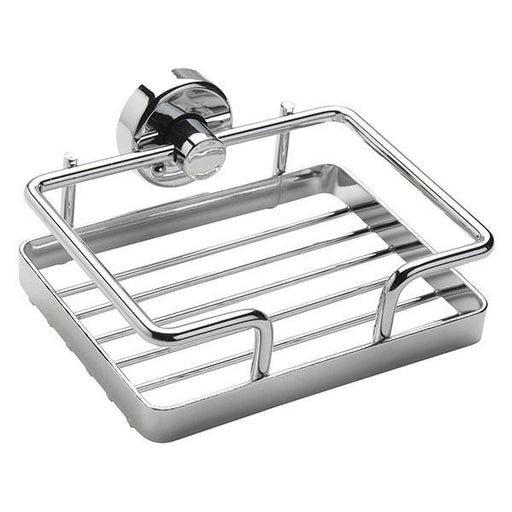 Sagittarius Square Wall Basket - Chrome