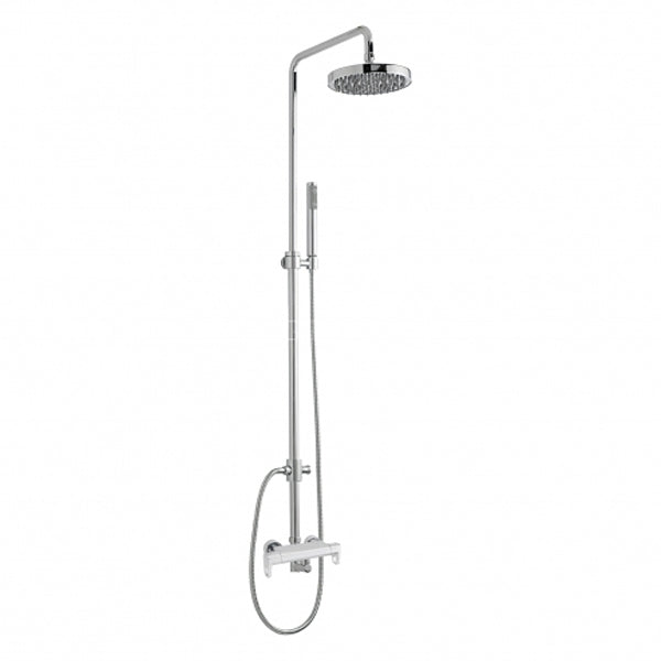 Sagittarius Vento Exposed Thermostatic Shower Valve and Riser Kit - Chrome