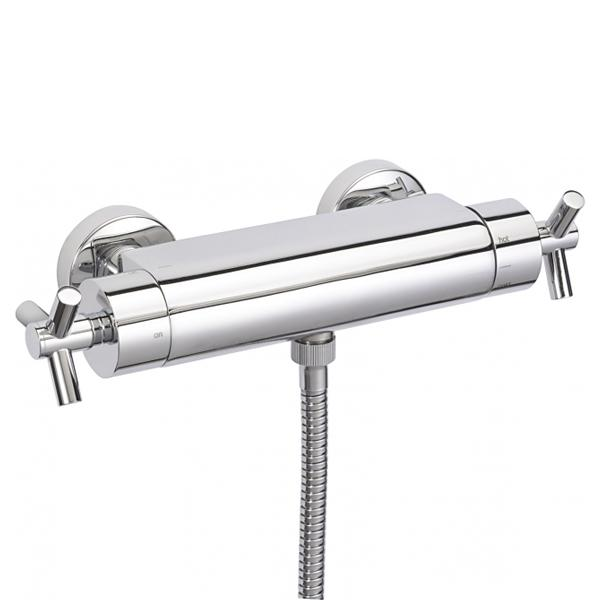 Sagittarius Zone Concealed Thermostatic Shower Valve - Chrome