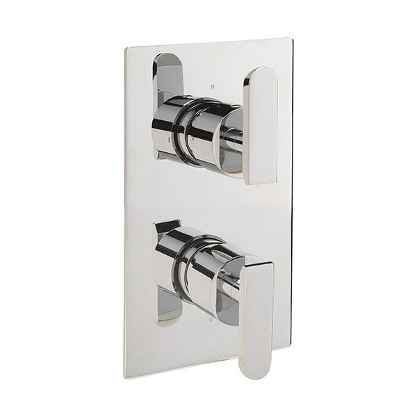Sagittarius Eclipse Concealed Thermostatic Shower Valve - Chrome