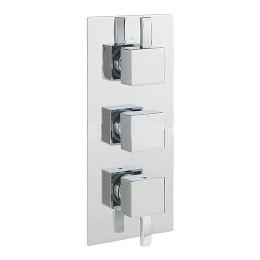 Sagittarius Arke Concealed Thermostatic Shower Valve with 3-Way Diverter - Chrome