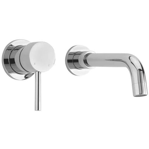 Sagittarius Ergo Wall Mounted Basin Mixer Tap - Chrome