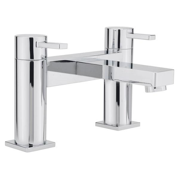Sagittarius Evolution Bath Filler Tap - 2 Tap Hole - Chrome