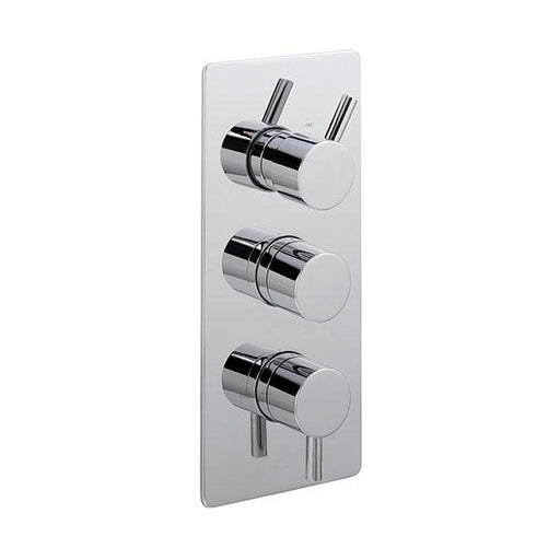 Sagittarius Piazza Concealed Thermostatic Shower Valve with 3-Way Diverter - Chrome