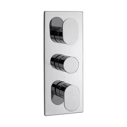 Sagittarius Plaza Concealed Shower Valve with 3 Way Diverter - Chrome