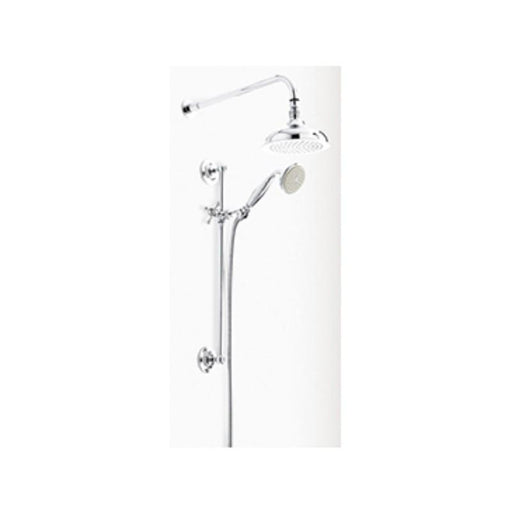 Heritage Dawlish Recessed Shower with Premium Fixed Head and Flexible Riser Kits