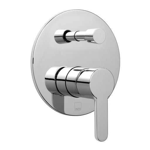 Vado Sense Concealed Single Lever Wall Mounted Manual Shower Valve With Diverter