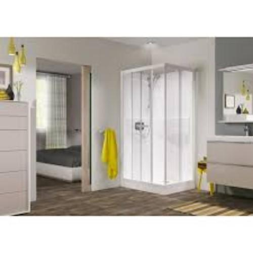 Saniflo Kinedo Kineprime Contract Corner Slider Shower Cubicle - 1000mm x 800mm