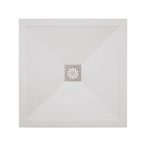 Crosswater Square 25mm Stone Resin Shower Tray & Waste