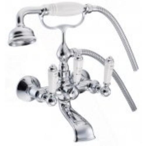 Marflow St James Wall Mounted Bath/Shower Mixer & Unions