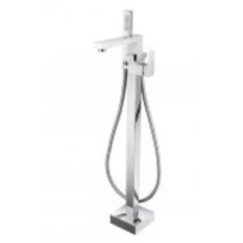 Marflow Vossen Floor Marflow Standing ThermoMarflow Static Bath Shower Mixer with Kit