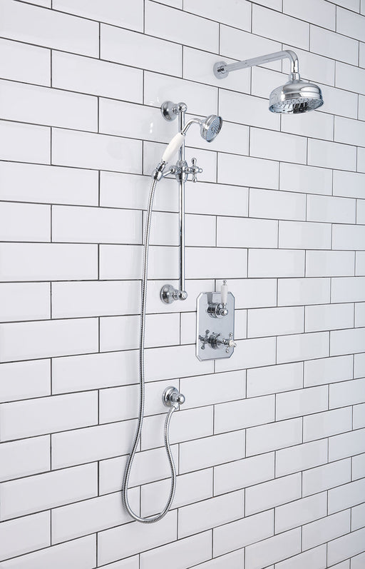 Silverdale Concealed Shower Set Chrome