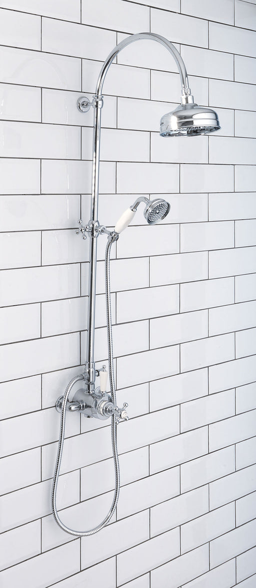 Silverdale Exposed Shower Set Chrome