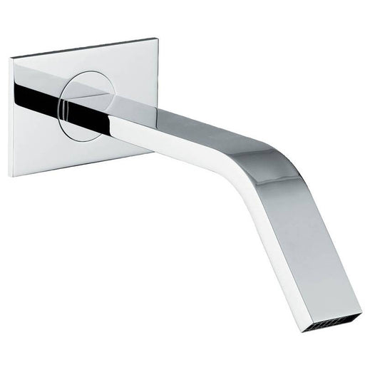Abode Square Wall Mounted Spout - Chrome