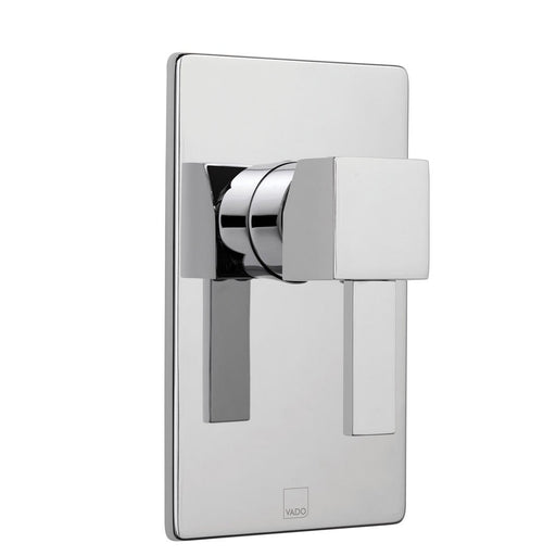 Vado Te Concealed Manual Shower Valve Single Lever Wall Mounted
