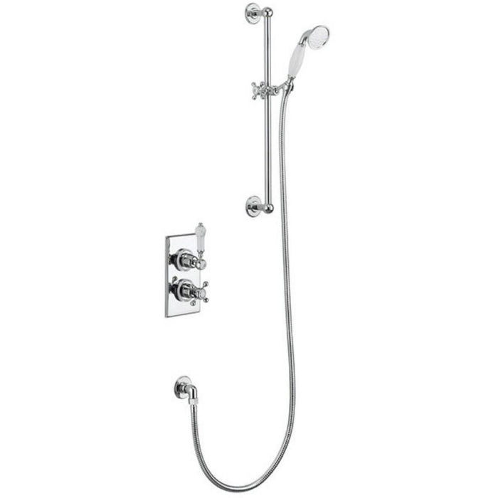 Burlington Trent Concealed with Slide Rail, Hose and Handset