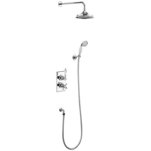 Burlington Trent Concealed 2 Control with Fixed Head, Hose and Handset