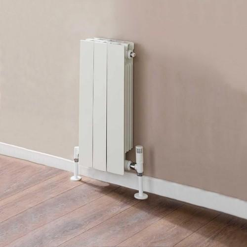 TRC VIP Sectional Aluminium Radiator - White