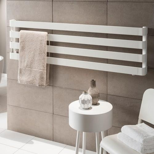 TRC BDO Step Aluminium Heated Towel Rail