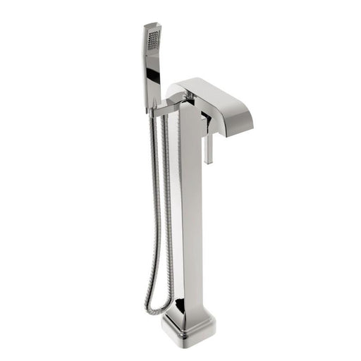 Heritage Somersby Freestanding Bath/Shower Mixer Chrome