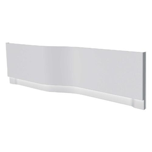 Twyford All Family Offset Bath Panel - 1700mm Wide - White