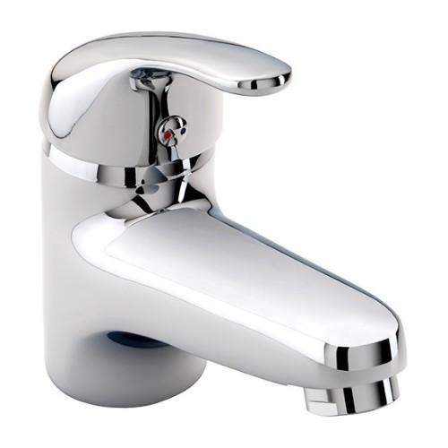 Twyford X52 Low Flow Mono Basin Mixer Tap With Click Clack Waste - Chrome