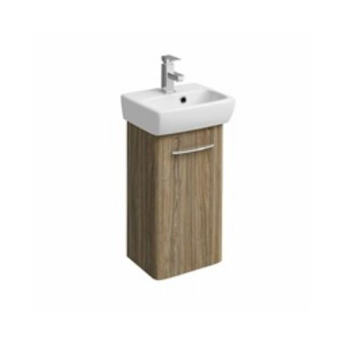 Twyford E100 Wall Hung Vanity Unit with Basin