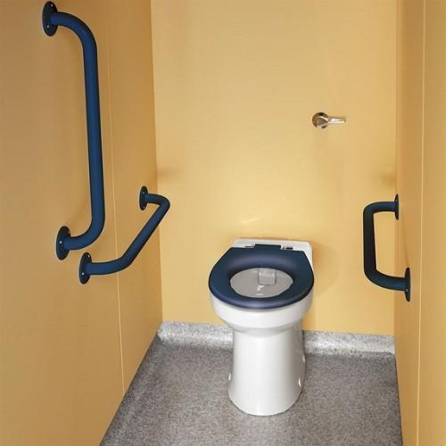 Twyford Doc.M Rimfree Back To Wall Disabled Toilet Ambulant Pack