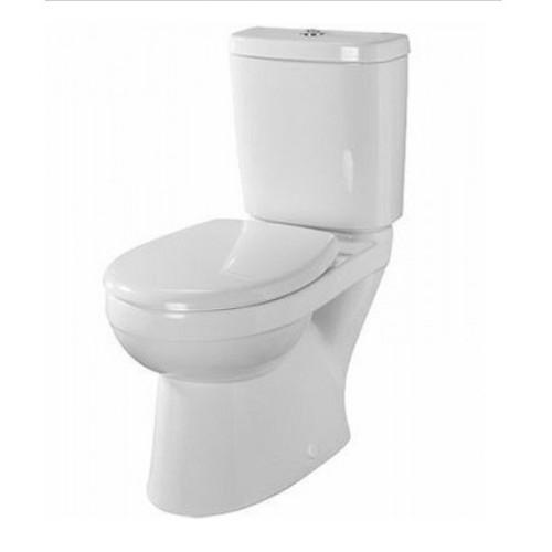 Twyford Option Close Coupled Toilet Pack - White