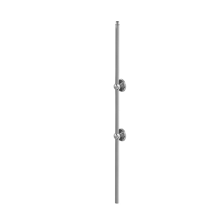 Burlington Showering Vertical Riser - Chrome