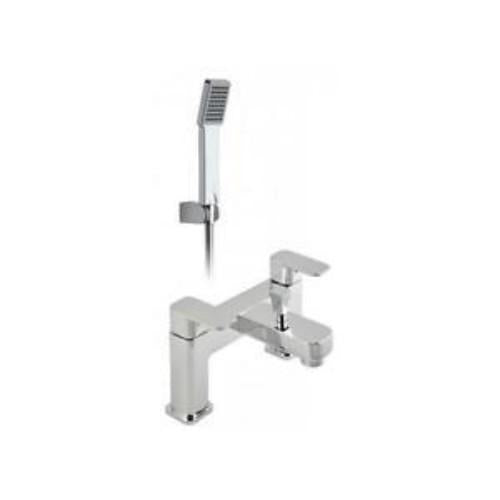 Vado Phase 2 Hole Bath Shower Mixer with Shower Kit