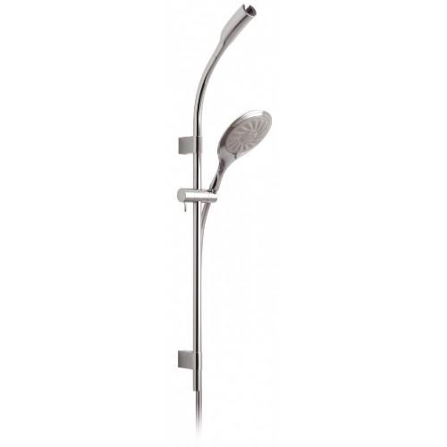 Vado Mercury Rigid Riser with Overhead Shower Mount & Multi Function Handset