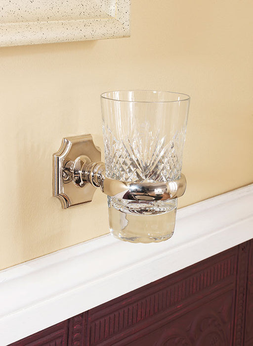 Silverdale Victorian Tumbler Holder - Chrome