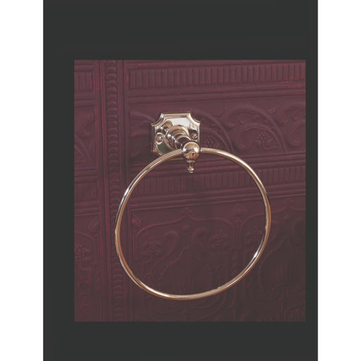 Silverdale Victorian Towel Ring - Chrome