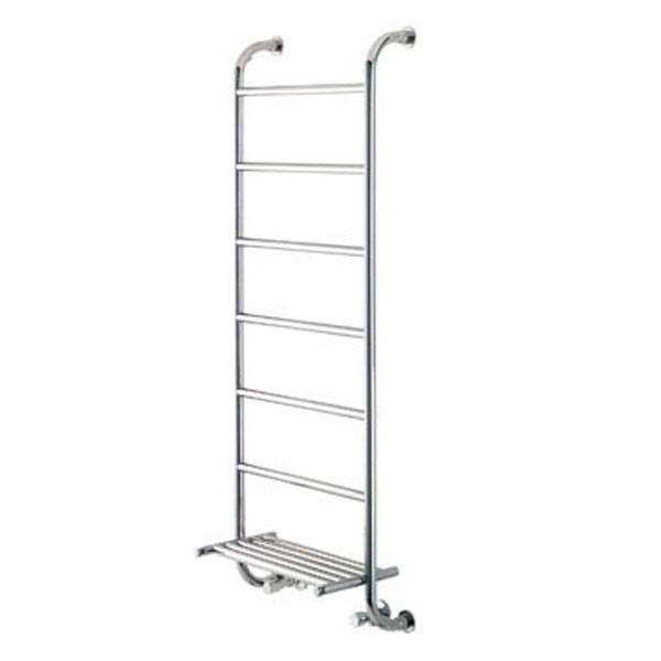Vogue Ieri 9 Heated Towel Rail - 1350mm H x 500mm W Central Heating