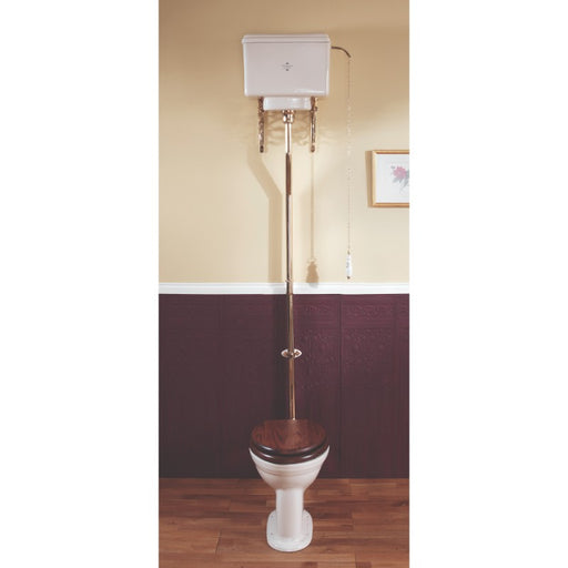 Silverdale Belgravia/Victorian 6L High Level Cistern & Fittings