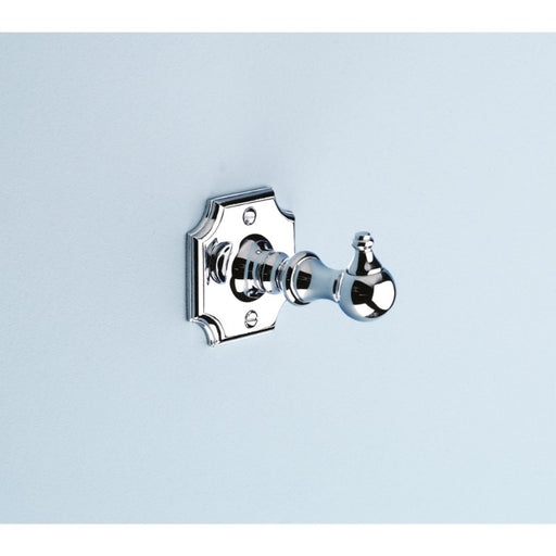 Silverdale Victorian Robe Hook - Chrome