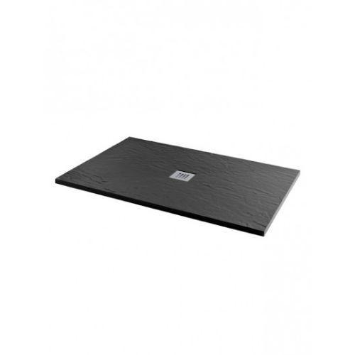 MX Minerals Ultra Low Slate Effect Rectangular Shower Tray