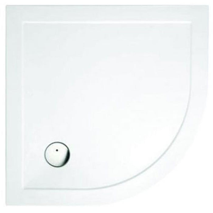 Cleargreen Tray Quadrant - White