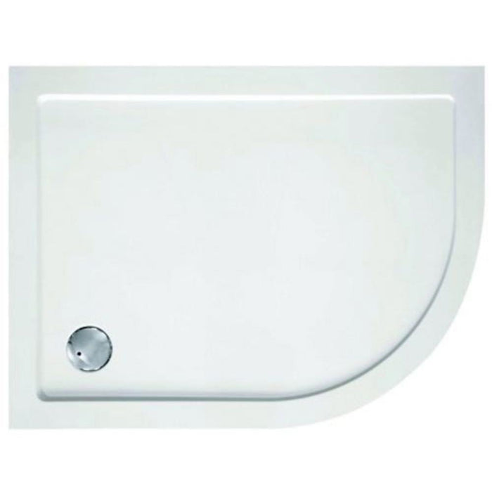 Cleargreen Tray Offset Quadrant 900 x 1200mm - White