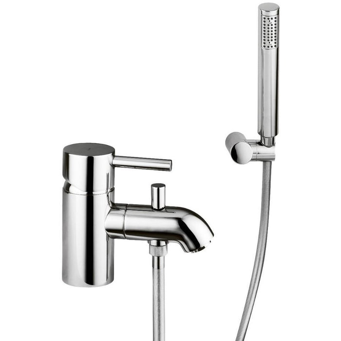 Abode Harmonie Monobloc Bath Shower Mixer - Chrome