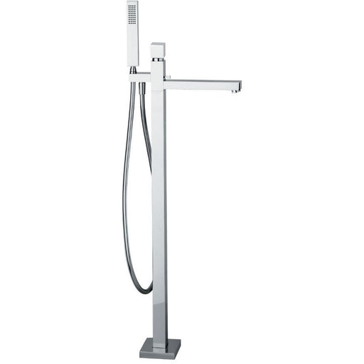 Abode Zeal Freestanding Bath Shower Mixer   - Chrome