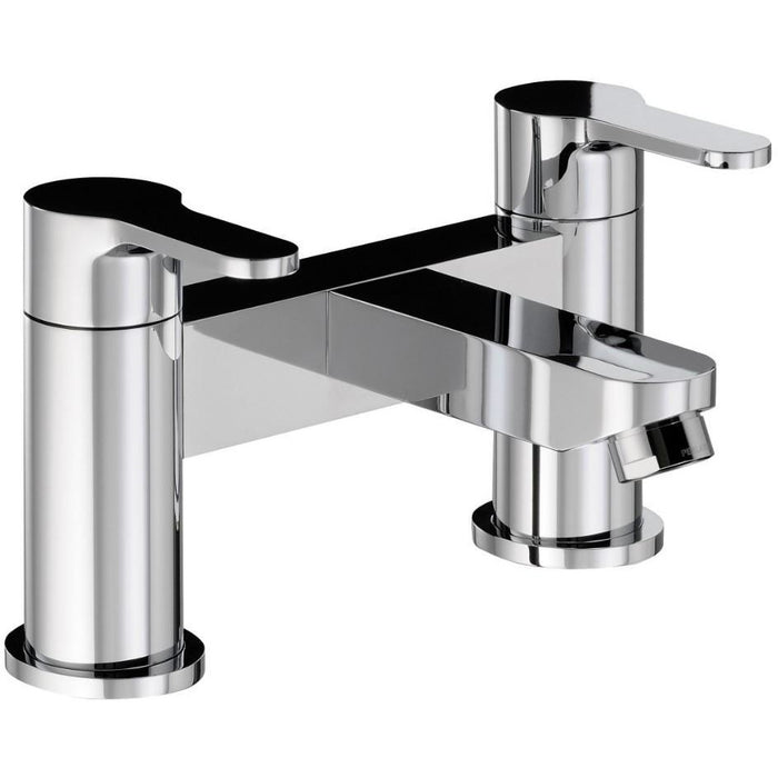 Abode Debut  Bath Filler - Chrome