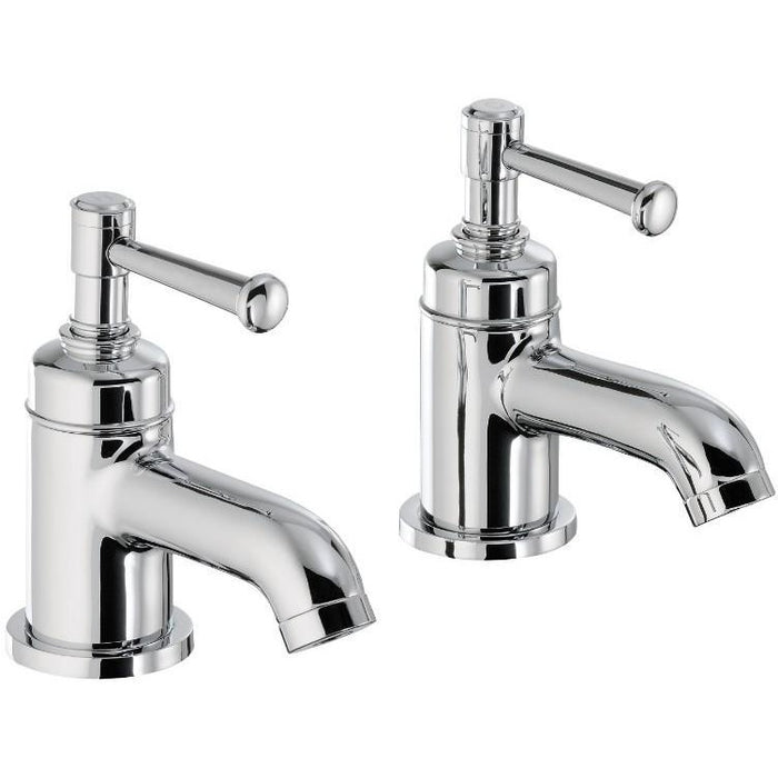Abode Gallant Bath Pillar Taps - Chrome