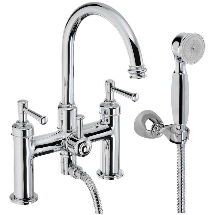 Abode Gallant Bath Shower Mixer - Chrome