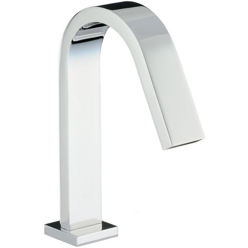 Abode Deck Mounted Bath Spout - Chrome