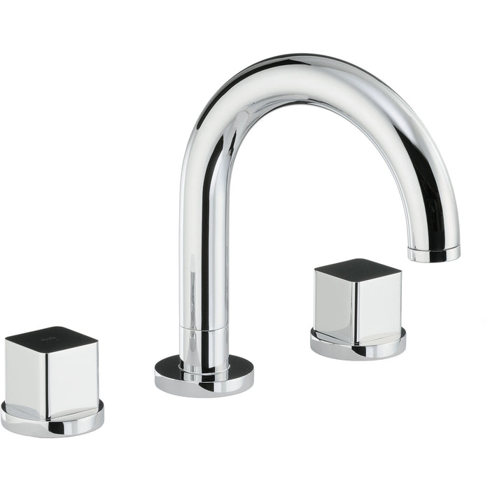 Abode Fervour Thermostatic 3 Hole Bath Filler - Chrome