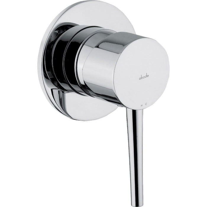 Abode Chao Wall Mounted Bath Control - Chrome